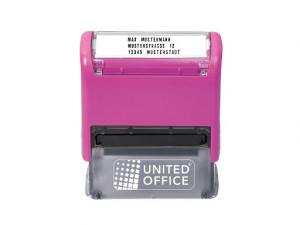 Stampila personalizabila Ofiice , 300 caractere , culoare magenta