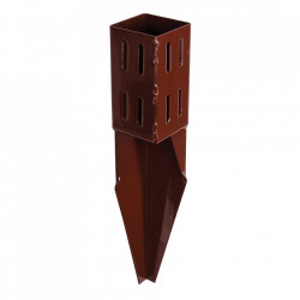 Suport fixare stalpi lemn, 75 x 75mm x 450mm, Fixman