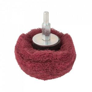 Tambur slefuit sfera, 50mm, grit 240, nailon, Silverline