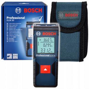 Telemetru cu laser Bosch Professional GLM 30, distanta maxima 30 m, dioda laser 635 nm