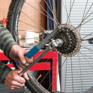 Cheie blocare caseta pinioane bicicleta, 7- 10 viteze, Silverline
