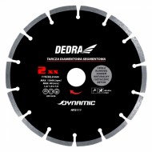 Disc diamantat , 230 x 22.2mm , taie caramida , piatra , beton , Dedra