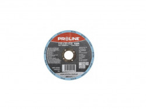 Disc profesional flex debitare metale, extra dur, 125 x 1mm, A60S, Proline
