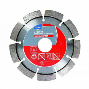 Disc profesional universal, toate suprafetele, 115 x 22.23, Wickes