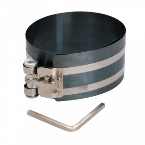 Dispozitiv presa compresat segmenti piston, 54 -157 x 75mm,Silverline