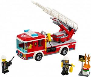 LEGO® City Camion de pompieri cu scara 60107