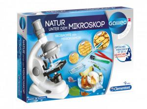 Microscop educativ copii , 100x, 300x, 600x, Clementoni