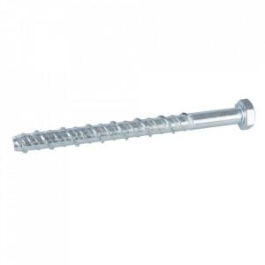 Set 10 suruburi fixare directa in beton si zidarie, M10 x 130mm, Fixman