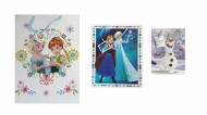 Set 3 pungi cadouri, XL, L, M, 45.5 cm, 33 cm, 24 cm, Disney Frozen