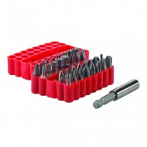 Set 33 biti, 25mm, prelungitor magnetic, Silverline
