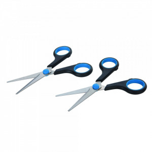 Set foarfeca 2 buc , 140mm , Silverline Scissors 2pk