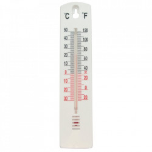 Termometru interior/exterior, 200 x 44 x 8mm, -40° la +50°C, Task