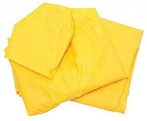 Combinezon 2 piese, extra-rezistent, PVC, impermeabil, galben, marimea M, Silverline