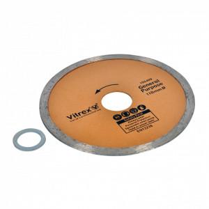 Disc profesional, ceramica, portelan, marmura, quartz, 110mm x 16mm/22mm, Vitrex
