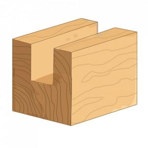 Freza lemn, 8mm,  8x20mm, Silverline