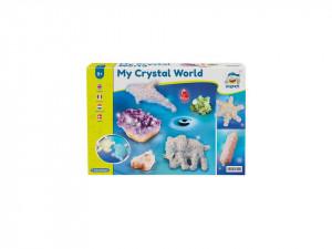 Joc educativ confectionat cristale, forme, Clementoni