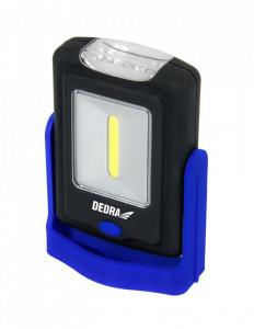 Lanterna 1W COB LED + 3LED, dreptunghiulara cu suport