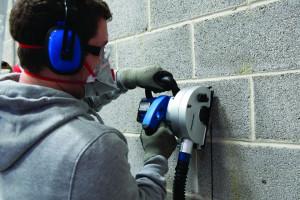 Masina canelat santuri beton, zidarie, 1700W, discuri 150mm, latime 14, 19, 29mm, adancime 40mm, Silverline