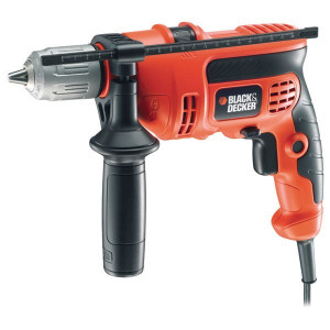 Masina de gaurit cu percutie BLACK & DECKER KR554CRES, 550W, 2800rpm, mandrina 13mm