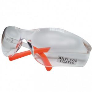 Ochelari de protectie din policarbonat cu filtru UV transparent, anti ceata, Dedra