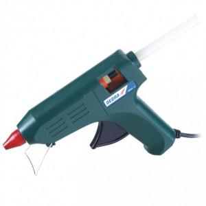 Pistol de lipit batoane siliconice, 80W, 11.2 mm, Dedra