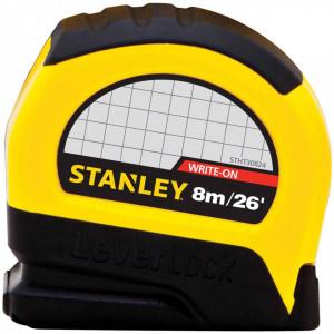 Ruleta profesionala , 8 m X 25 mm carcasa din cauciuc, rezistenta la impact, Stanley, 5-30-824