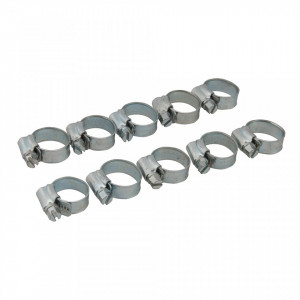 Set 10 coliere metalice, 12-20mm, Fixman