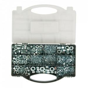 Set 1000 piulite zincate, M3, M4, M5, M6, M8, M10, M12, Fixman