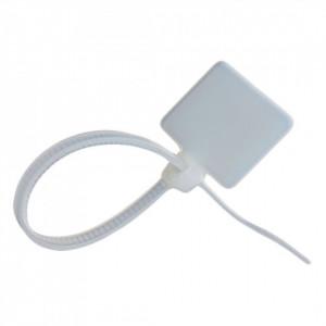 Set 12 coliere mini cu eticheta, cabluri electrice, panou electric, 110 mm, 25 x 12 mm , VKTools
