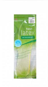 Set 2 talpici latex parfumate, anti-miros, anti-transpiratie, marimea 44/45,  Wenco