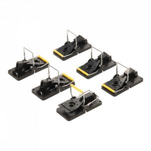 Set 6 capcane soareci, mecanice, 98 x 48 mm, Fixman