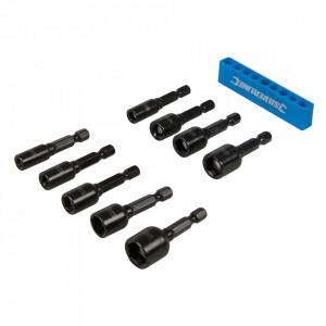 Set 9 tubulare magnetice, 5 -12mm, Silverline