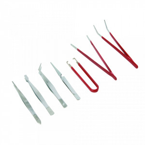 Set pensete 7 piese , Silverline Tweezer Set 7pce