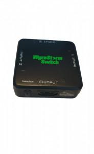 Switcher splitter HDMI 1.3, 1 intrare, 3 iesiri, auto comutare, fara alimentare, WyreStorm