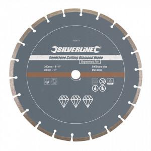 Disc piatra, caramida, 300 x 20mm, Silverline