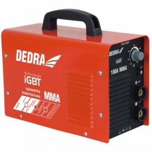 Aparat de sudura tip inverter MMA PROFESIONAL Dedra DESI199BT 180A IGBT , 30-180 A , accesorii incluse, GARANTIE 4 ANI