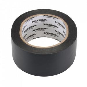 Banda izolatoare electrica, negru, 50mm x 33m, Fixman