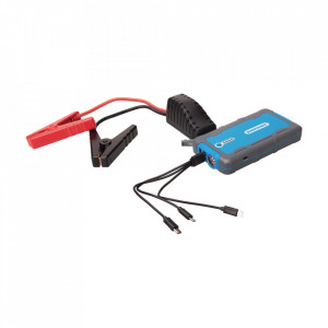 Car starter portabil, power bank, 12V, 400A, USB 2.1A, 6000 mAh, Silverline