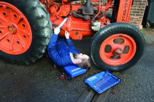 Carucior pentru mecanică cu 6 roți , 920 x 420 x 65 mm , Silverline Mechanics Creeper