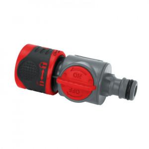 """Conector rapid cu robinet 1/2"""" , ABS, PP, Dedra"""