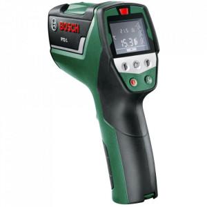 Detector termic Bosch PTD 1, 1 m domeniu lucru, 3 moduri masurare, -20/+200 °C domeniu masurare