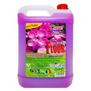 Detergent pardoseli, fara clatire, Liliac, 5L, Cloret