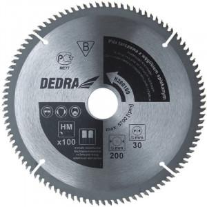 Disc circular pentru lemn 210x100x30 mm ,dinti vidia, Dedra
