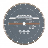 Disc piatra, caramida, 300 x 20mm, Silverline