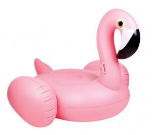 Flamingo gonflabil gigant, 200 x 194cm, Crivit