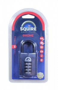 Lacat profesional cu cifru, clasa protectie 5/10, Squire Cp50