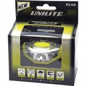 Lanterna profesionala, montura cap, 155 lumeni, 60m, rezistenta umiditate, rezistenta impact, Unilite Prosafe