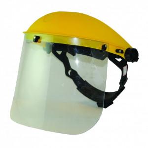 Masca protectie fata cu viziera transparenta , Flip-up , prindere clichet , Silverline