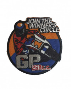 Petic textil, patch brodat , 80mm, moto racing, Wenco