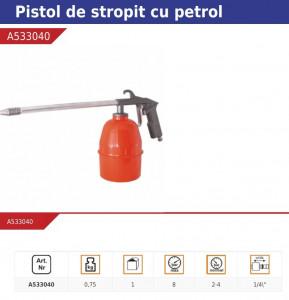 Pistol spumat , vopsit , 750 ml , Pansam